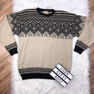 Men's L y'all woolrich Nordic fair isle sweater